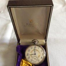 Relojes de bolsillo: RELOJ DE BOLSILLO WALTHAM CHAPADO ORO BLANCO. Lote 98071107