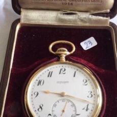 Relojes de bolsillo: RELOJ DE BOLSILLO ULYSSE NARDIN EN ORO 18 KL. Lote 98071495