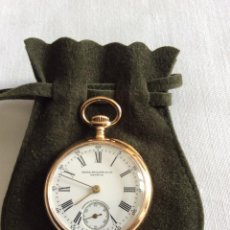 Relojes de bolsillo: RELOJ DE BOLSILLO PATEK PHILIPPE SEÑORA EN ORO 18KL. Lote 98072839