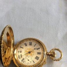 Relojes de bolsillo: RELOJ DE BOLSILLO SUIZO ASSMANN ORO 18KL. Lote 98134203