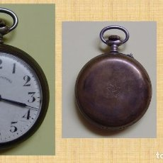 Relojes de bolsillo: ANTIGUO RELOJ DE BOLSILLO: COPPEL (ROSKOPF, COMIENZOS S. XX) VINTAGE. ORIGINAL. COLECCIONISTA. Lote 98205835