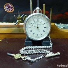 Relojes de bolsillo: ,,,SEMICATALINA,,,CRONO MEDICO,,,PLATA SELLADA,,,EN ORDEN DE MARCHA,,,( B - 1 ). Lote 98572179