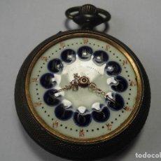 Relojes de bolsillo: MAGNIFICO RELOJ DE BOLSILLO CARGA MANUAL DE XIX SYSTEME ROSKOPF,FUNCIONANDO,SALIDA 1 EURO. Lote 98783555