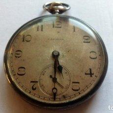 Relojes de bolsillo: RELOJ DE BOLSILLO PARADOX, PLATA, FUNCIONANDO, MEDIDA 45 MM. Lote 99029231