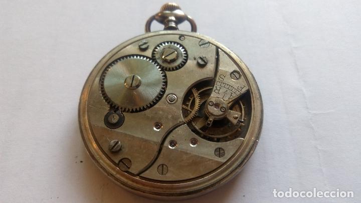 Relojes de bolsillo: RELOJ DE BOLSILLO PARADOX, PLATA, FUNCIONANDO, MEDIDA 45 MM - Foto 2 - 99029231