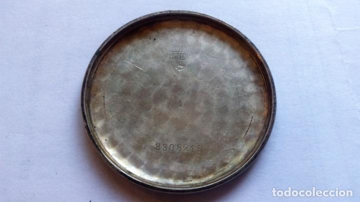 Relojes de bolsillo: RELOJ DE BOLSILLO PARADOX, PLATA, FUNCIONANDO, MEDIDA 45 MM - Foto 4 - 99029231