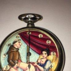 Relojes de bolsillo: RELOJ DE BOLSILLO ERÓTICO. 1900. Lote 99573579