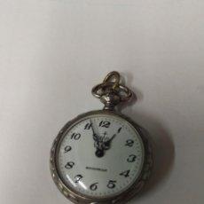 Relojes de bolsillo: RELOJ ANTIGUO BOLSILLO MORVIL. Lote 99722031