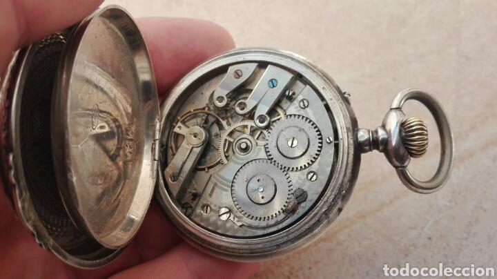 Relojes de bolsillo: Reloj de Bolsillo Plata Ancre Remontoir 15 Rubis - Juan Janini Villanueva y Geltrú - - Foto 14 - 91852860
