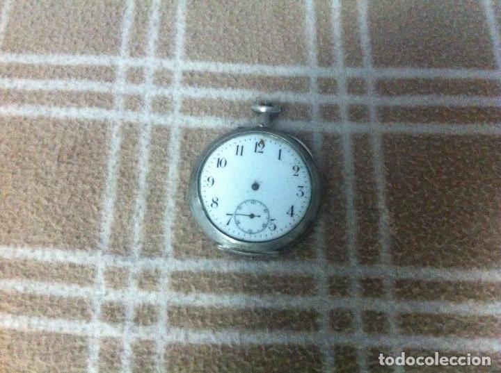 RELOJ EN PLATA (Relojes - Bolsillo Carga Manual)
