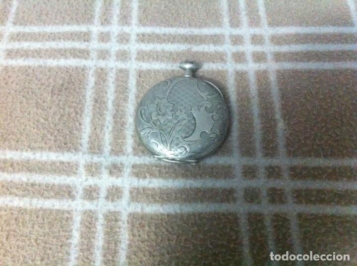 Relojes de bolsillo: Reloj en plata - Foto 2 - 101244175