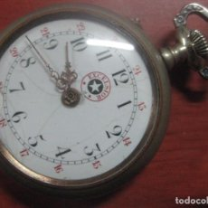 Relojes de bolsillo: GRAN RELOJ DE BOLSILLO MARCA EXCELSIOR TIPO ROSKOPF FUNCIONANDO BIEN, DATA DE 1900, 54 MM. Lote 101395923