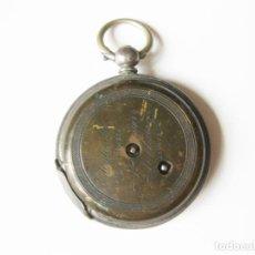 Relojes de bolsillo: ANTIGUO RELOJ DE BOLSILLO MARCA M. BARRY. GÉNOVA. FINALES DEL SIGLO XIX. GENEVE. Lote 102217719