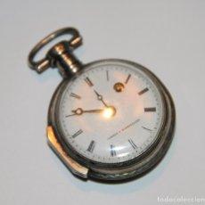 Relojes de bolsillo: RELOJ CATALINO COMBES A MONTPELLIER. PLATA. FRANCIA. FINALES S. XVIII. Lote 102707035