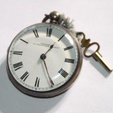 Relojes de bolsillo: RELOJ CATALINO JOHN BENNETT. PLATA Y ESMALTE. REINO UNIDO. MEDIADOS S. XIX. Lote 102939151
