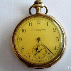 Relojes de bolsillo: RELOJ DE BOLSILLO, KEYSTONE-ELGIN JONES, SUIZO, NO FUNCIONA, DIAMETRO 50 MM. Lote 103148335