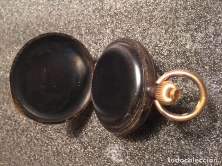 Relojes de bolsillo: Reloj de bolsillo cronógrafo, crono, cronómetro Le Phare. Funciona - Foto 3 - 103165655