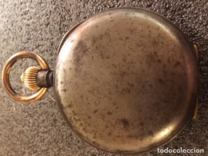 Relojes de bolsillo: Reloj de bolsillo cronógrafo, crono, cronómetro Le Phare. Funciona - Foto 5 - 103165655