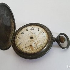 Relojes de bolsillo: RELOJ DE BOLSILLO DE PLATA. RELOJ ROUNDLY.. Lote 103217715