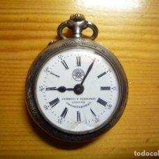 Relojes de bolsillo: CUERVO Y SOBRINOS ROSKOPF. Lote 103417835