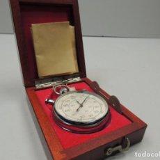Relojes de bolsillo: ANTIGUO CRONÓMETRO DE CUERDA DE PRECISIÓN SOVIÉTICO MARCA SLAVA UNIÓN SOVIÉTICA URSS RUSIA. Lote 103453631