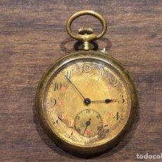 Relojes de bolsillo: ANTIGUO RELOJ DE BOLSILLO - FUNCIONANDO. Lote 103478063