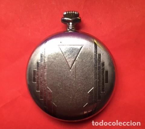 Relojes de bolsillo: Antiguo reloj bolsillo CONTROL 15 RUBIS INCABLOC funcionando - Foto 4 - 103704775
