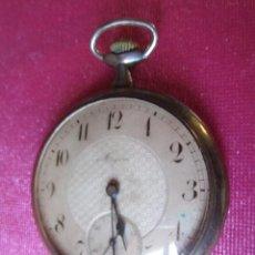 Relojes de bolsillo: RELOJ ANTIGUO DE BOLSILLO Y DE PLATA MARCA ANCRE CON TRES TAPAS DE PRECISION. Lote 103866439