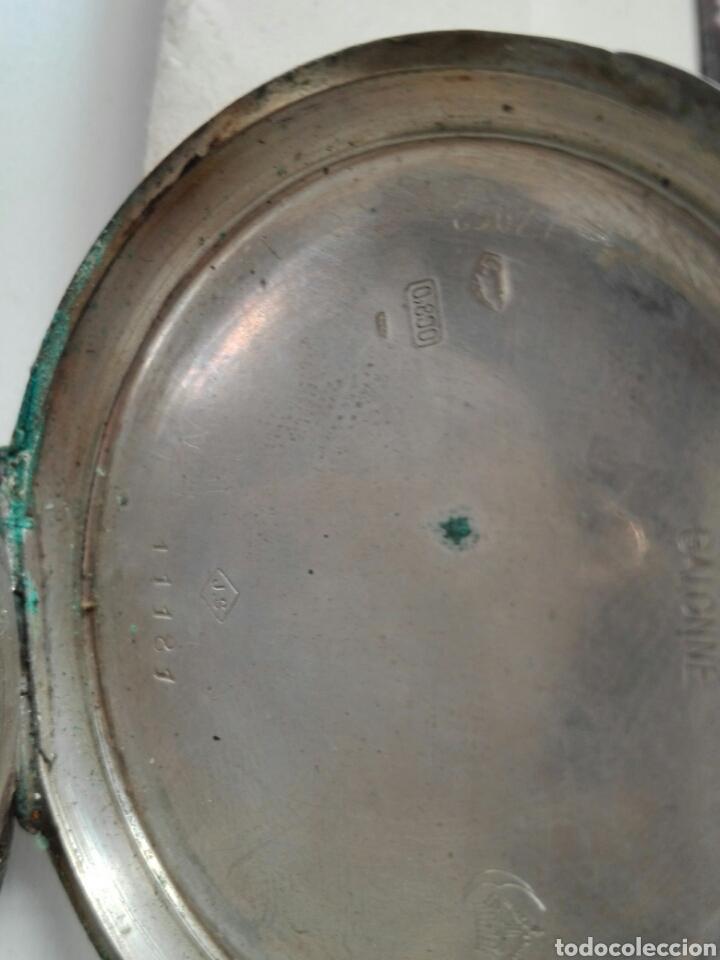 Relojes de bolsillo: Reloj de cuerda sin tapa posterior y de plata - Foto 4 - 104068583