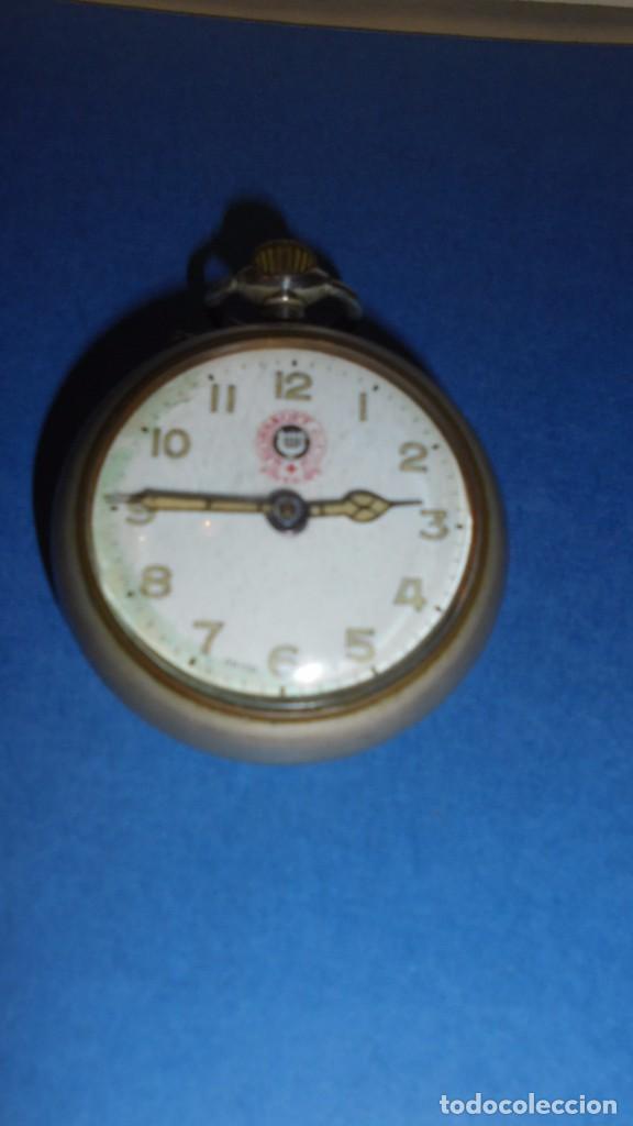 ANTIGUO RELOJ - ROSSKOPF PATENT SWISS MADE , FUNCIONANDO , COMO SE VE EN LAS FOTOS (Relojes - Bolsillo Carga Manual)