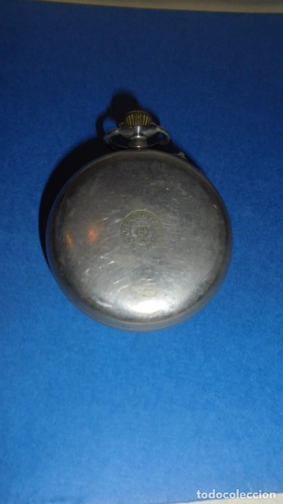 Relojes de bolsillo: ANTIGUO RELOJ - ROSSKOPF PATENT SWISS MADE , FUNCIONANDO , COMO SE VE EN LAS FOTOS - Foto 2 - 104594579