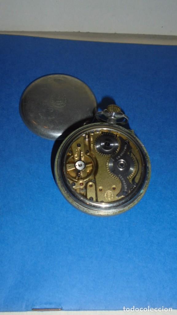 Relojes de bolsillo: ANTIGUO RELOJ - ROSSKOPF PATENT SWISS MADE , FUNCIONANDO , COMO SE VE EN LAS FOTOS - Foto 3 - 104594579