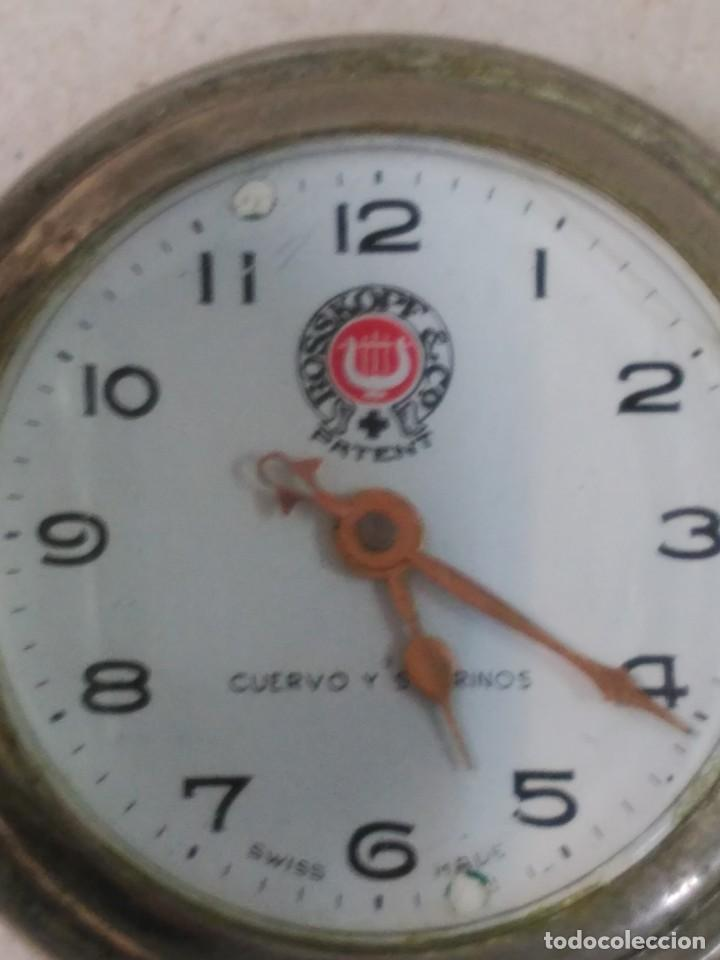Relojes de bolsillo: RELOJ DE BOLSILLO CARGA MANUAL CUERVO Y SOBRINOS - Foto 6 - 104976647