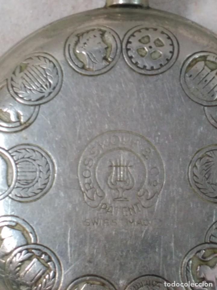 Relojes de bolsillo: RELOJ DE BOLSILLO CARGA MANUAL CUERVO Y SOBRINOS - Foto 9 - 104976647