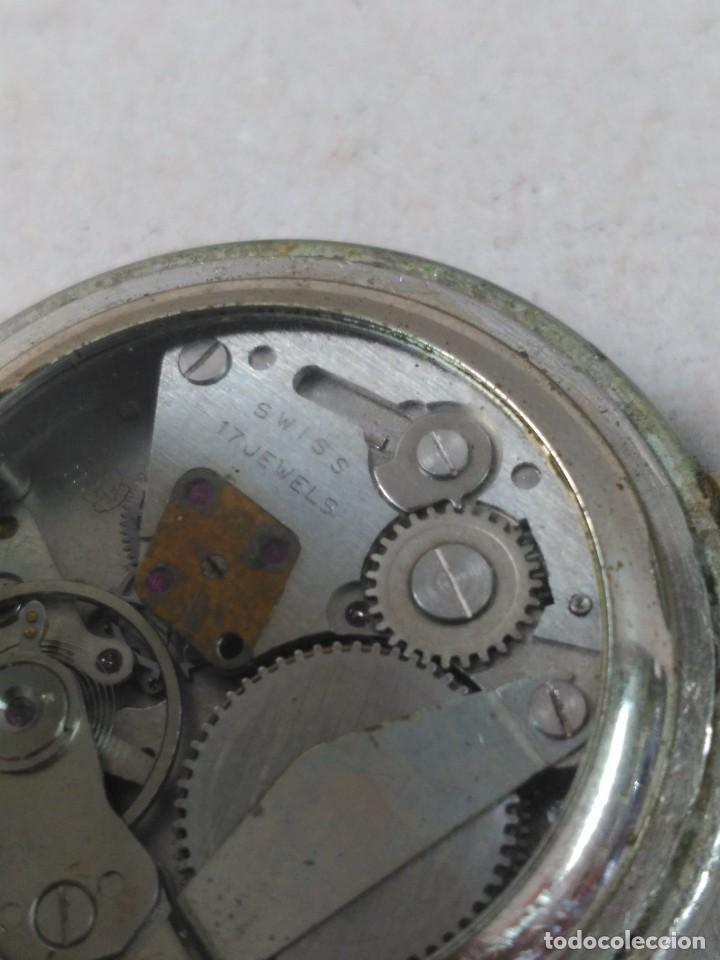 Relojes de bolsillo: RELOJ DE BOLSILLO CARGA MANUAL CUERVO Y SOBRINOS - Foto 14 - 104976647