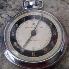 Relojes de bolsillo: ANTIGUO RELOJ DE BOLSILLO INGERSOLL LTD LONDON TRIUMPH MADE IN GT BRITAIN AÑOS 50. Lote 135004277