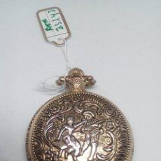 Relojes de bolsillo: RELOJ BOLSILLO QUARZ TROVADOR MEDIDAS 4 CM PESO 39 GR PILA NUEVA MUY BONITO. Lote 105194043