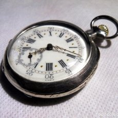 Relojes de bolsillo: LEPINE FRENCH - SILVER Cª 1880. Lote 105306991