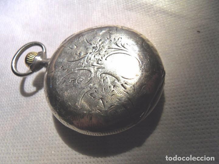 Relojes de bolsillo: LEPINE FRENCH - SILVER Cª 1880 - Foto 6 - 105306991