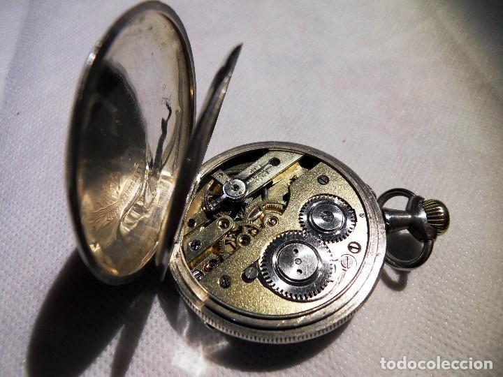 Relojes de bolsillo: LEPINE FRENCH - SILVER Cª 1880 - Foto 10 - 105306991