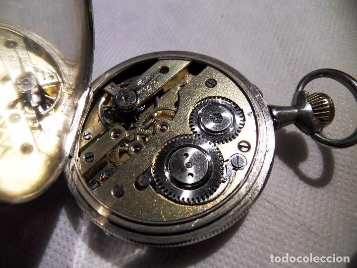 Relojes de bolsillo: LEPINE FRENCH - SILVER Cª 1880 - Foto 12 - 105306991