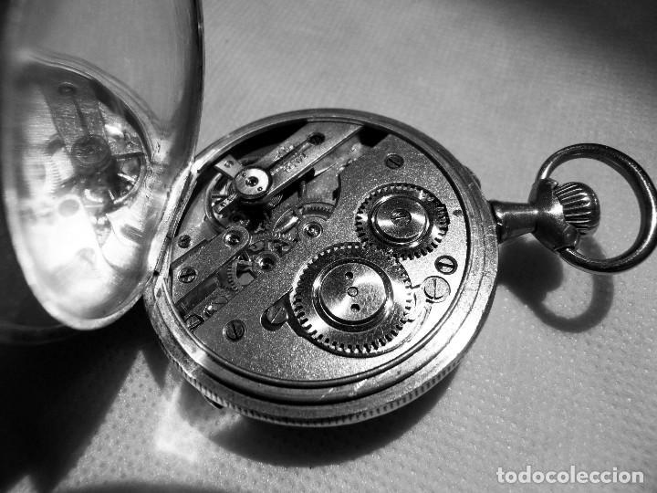 Relojes de bolsillo: LEPINE FRENCH - SILVER Cª 1880 - Foto 14 - 105306991