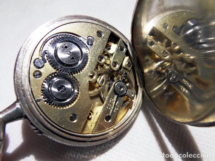Relojes de bolsillo: LEPINE FRENCH - SILVER Cª 1880 - Foto 15 - 105306991