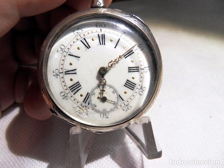 Relojes de bolsillo: LEPINE FRENCH - SILVER Cª 1880 - Foto 17 - 105306991