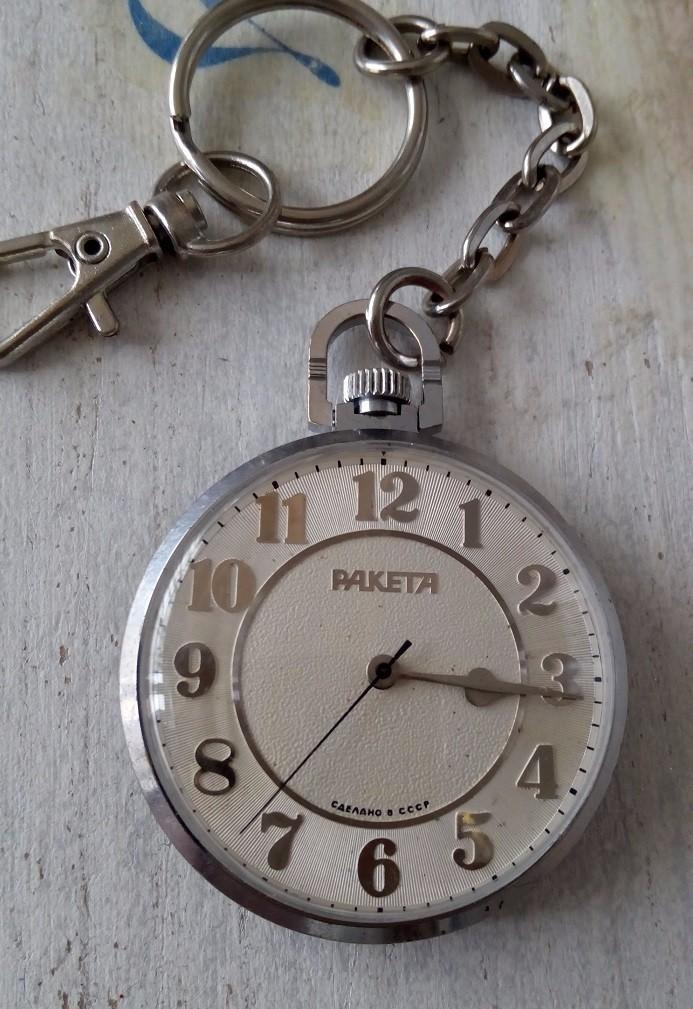 Relojes de bolsillo: PRECIOSO Y ELEGANTE RELOJ DE BOLSILLO RUSO DE LOS AÑOS 60/70 MARCA RAKETA - Foto 2 - 105330776