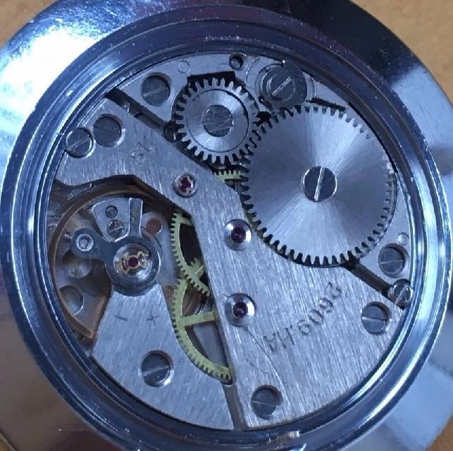 Relojes de bolsillo: PRECIOSO Y ELEGANTE RELOJ DE BOLSILLO RUSO DE LOS AÑOS 60/70 MARCA RAKETA - Foto 4 - 105330776