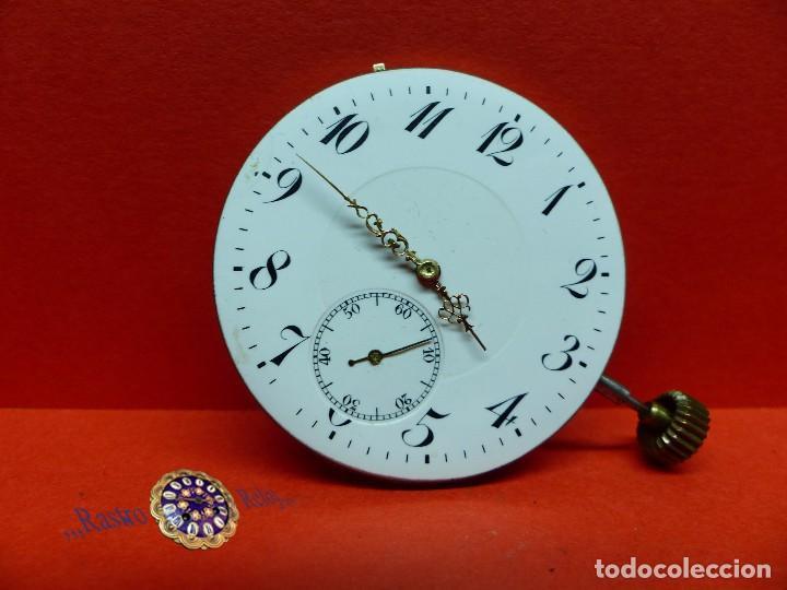 ,,,MAQUINA RELOJ DE BOLSILLO ( M-3 ),,, (Relojes - Bolsillo Carga Manual)