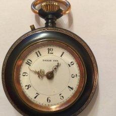 Relojes de bolsillo: RELOJ DE BOLSILLO SUIZO DONAT FER SIGLO XIX. Lote 105667614