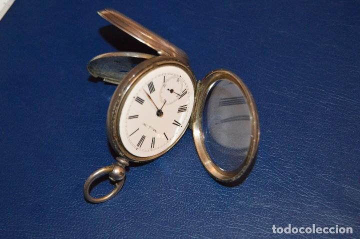 Relojes de bolsillo: VINTAGE - ANTIQUÍSIMO RELOJ DE BOLSILLO DE PLATA - KENDALL & DENT - CARGA MANUAL - HAZ OFERTA - Foto 2 - 106021219