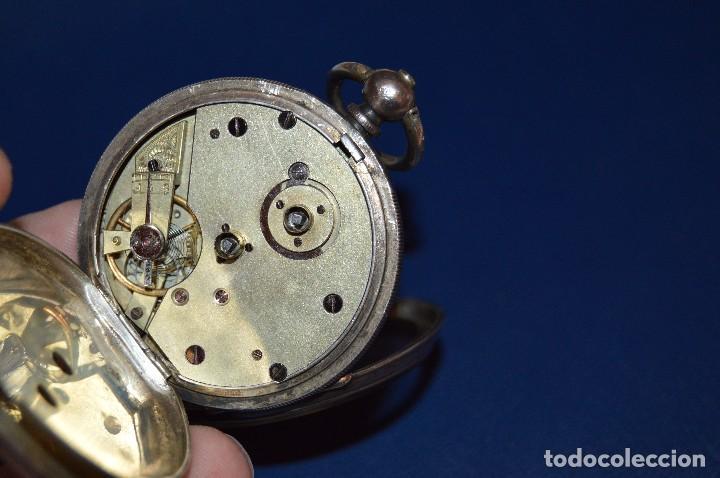 Relojes de bolsillo: VINTAGE - ANTIQUÍSIMO RELOJ DE BOLSILLO DE PLATA - KENDALL & DENT - CARGA MANUAL - HAZ OFERTA - Foto 4 - 106021219